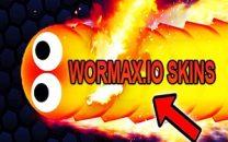 Various Assortment of Wormax.io Skins